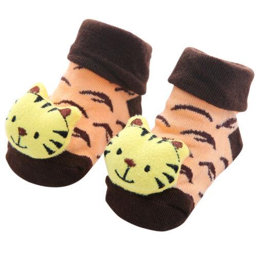 Baby Girl Boy Toddler Cartoon Sock Shoes Anti-slip Floor Slipper Socks Prewalker