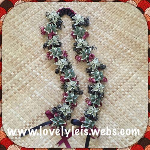 Money Ribbon Lei $ Graduation Promotion Birthday Wedding Luau Hawaiian ALOHA