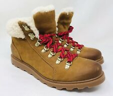 89f9eea9c7 item 3 Sorel Women s Ainsley Round Toe Leather Hiking Boots Size 9 10 Elk