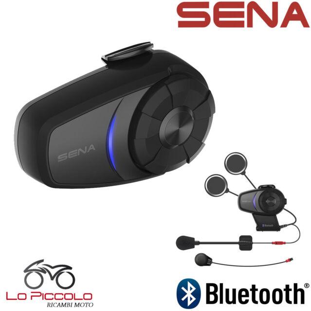 Interphone Radio Fm Bluetooth 4.1 10S-01 Sena pour Casque Moto Unique Universal