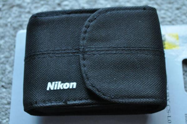Aimable Nikon, Petit, Appareil Photo, Case, Nouveau, Noir, Seul Cas Pour La Vente-,only Case For Sale Pour Convenir à La Commodité Des Gens