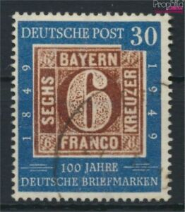 BRD 115 gestempelt 1949 100 Jahre dt. Briefmarken (9213205