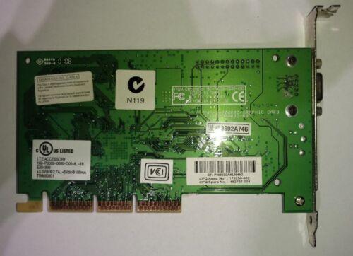 180-P0009-0000-C03 NVIDIA 16MB AGP VGA Video Card *** P//N