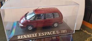 IXO-1-43-RENAULT-ESPACE-II-METALLIC-RED-1991-NEUF-EN-BOITE