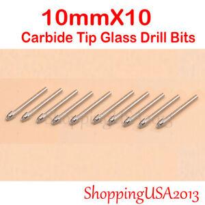 Diamond tool Drill Bit 5mm Carbide Tip hole saw Alloy Mirror Glass Ceramic tile