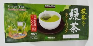 Kirkland Itoen Japanese Matcha Green Tea Bags up to 100 Tea Bags