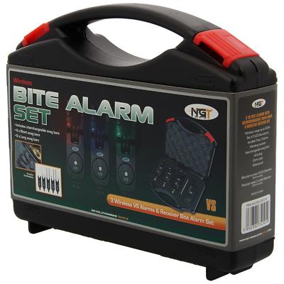 2X VS Bite Alarms Wireless Set Transmitter Receiver Snag Ears  NGT Carp Fishing