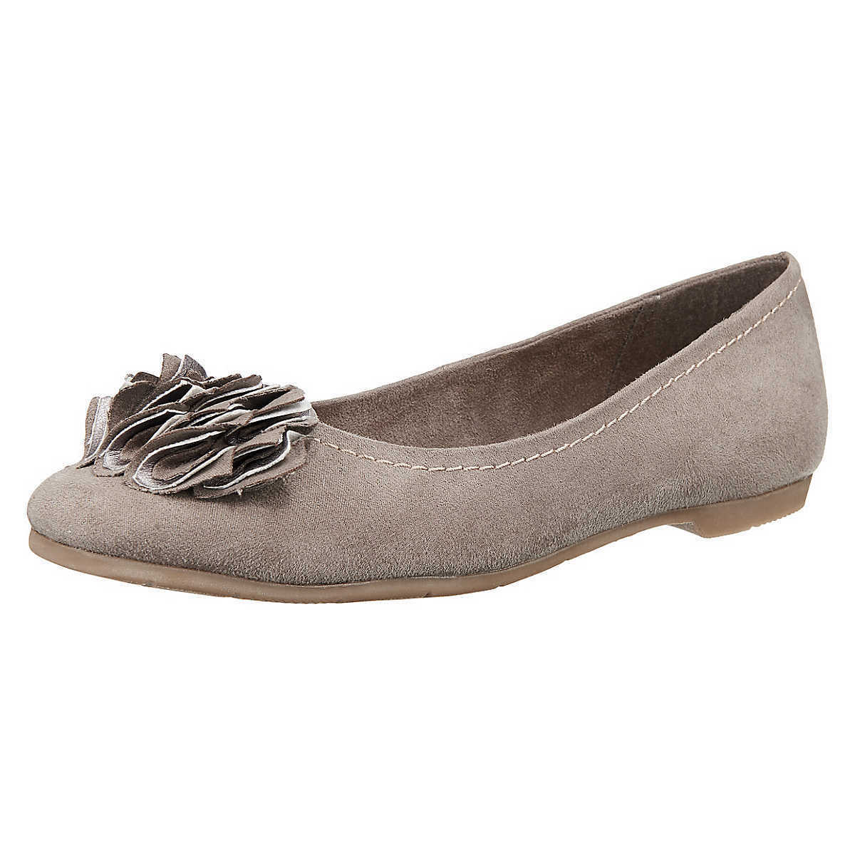 MARCO 40 TOZZI Ballerinas Damen zapatos  Slipper Gr. 38 40 MARCO beige Neu 621248