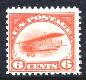 SF-US-C1-1st-Airmail-Stamp-1918-039-Jenny-039-Mail-Transport-Plane-MNH-OG