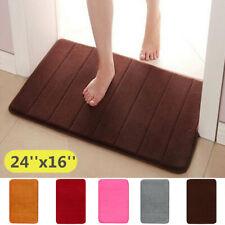 Non-slip Absorbent Memory Foam Carpet Bath Bathroom Bedroom Floor Shower Mat A+