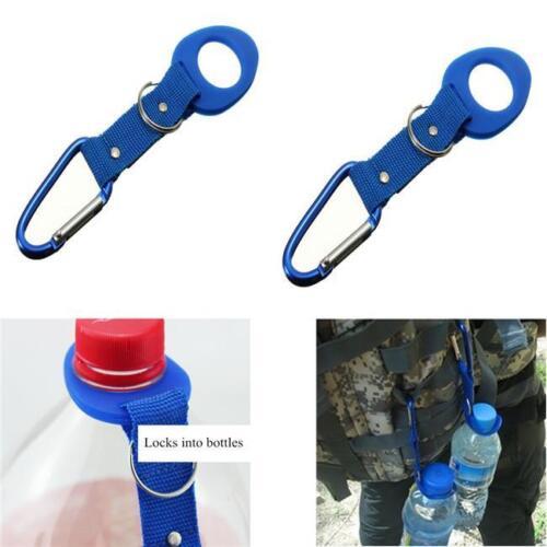 Camping Carabiner Water Bottle Waist Hook Buckle Holder Clip Climbing Hook FA
