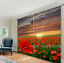 3D Sun Flowers Blockout Photo Curtain Printing Curtains Drapes Fabric Window AU