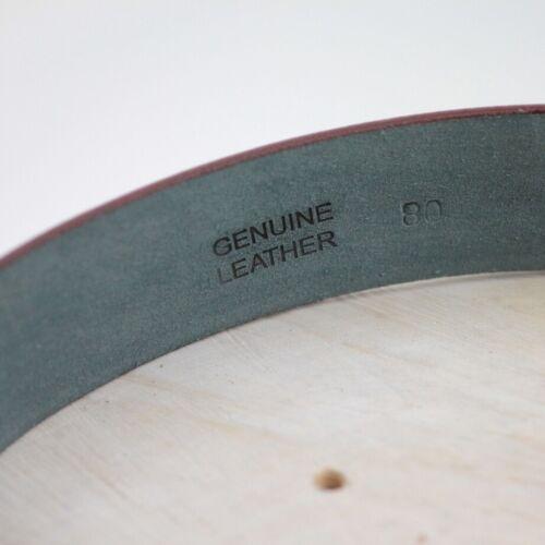Ledergürtel Wechselgürtel für Buckle Blau aus Büffel Leder alle Größen LG07