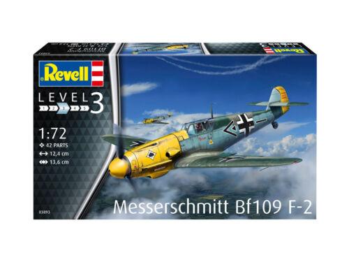 Revell 03893 Messerschmitt Bf109 F-2 Bausatz