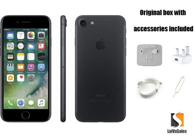 Apple IPHONE 7-32GB - Negro (Libre) A1778 ( Gsm )
