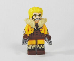 Details about Custom Classic Sabertooth Super heroes on lego bricks  minifigures marvel