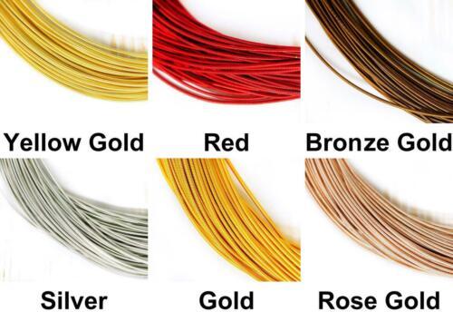 10g Round Stiff Copper Hand Embroidery French Fine Metallic Cut Wire Goldwork...