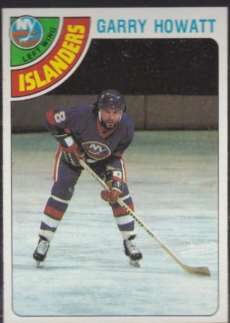 1978-79 TOPPS HOCKEY GARRY HOWATT #29 ISLANDERS NMMT *54774