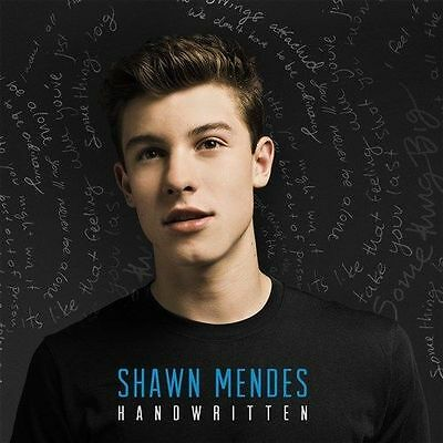 SHAWN MENDES HANDWRITTEN Deluxe Edition 5 Extra Tracks CD NEW