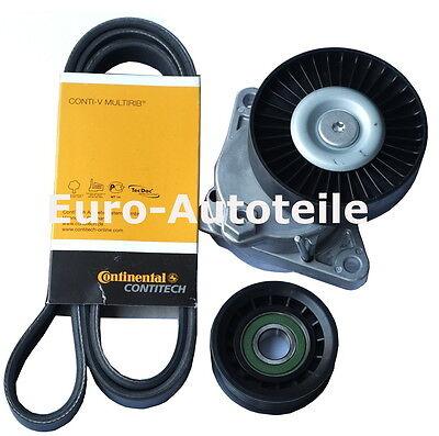 CONTI 6PK2390 Keilrippenriemen Spannrolle Umlenkrolle Mercedes W210 W203 ML 350