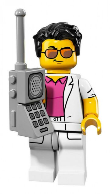 Lego Minifigures serie 17 71018 - Le yuppie - NEUF
