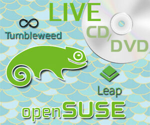 Details about OpenSUSE LINUX LIVE CD & DVD Editions 2019