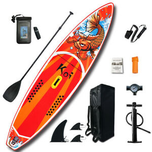 Funwater-Inflatable-Stand-up-paddle-board-SUP-Surfboard-11-039-6-039-039-33-039-039-6-039-039-Kayak