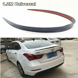 Universal-Black-Soft-Car-Rear-Roof-Trunk-Spoiler-Rear-Wing-Lip-Trim-Sticker-1-2M