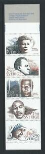 1986-SWEDEN-Nobel-Peace-Prize-Laureates-Booklet-contains-Scott-1622a-MNH