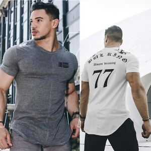 Nebbia Fitness T-Shirt Mens Fitness Gym Muscle Top Bodybuilding Alpha Vq Tee Uk