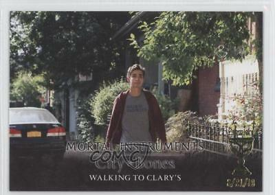 Non-sport Trading Cards City Of Bones S-62 Walking To Clary's Card 0j6 A Great Variety Of Goods Collectibles 2013 Leaf The Mortal Instruments