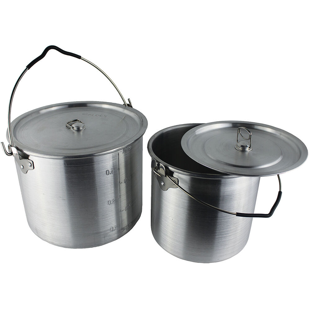BILLY CAN CAMPING FAMILY COOKSET POTS PAN SET cook cookware saucepans nesting