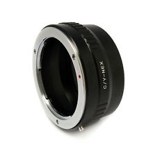 Brand NEW Mount adapter For Contax C/Y lens to SONY E-MOUNT digital cameras
