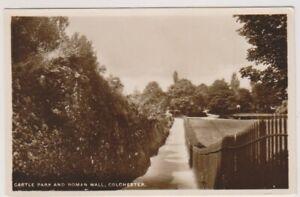Essex-Cartolina-Castello-Park-amp-Romana-Muro-Colchester-A455