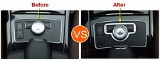 1p Chrome Control Panel Cover Trim for Mercedes Benz E Class W212 E200 E250 E300