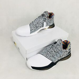 newest 06415 8b6f2 ... inexpensive image is loading adidas harden vol 1 bhm arthur ashe  edition 907db 87a53