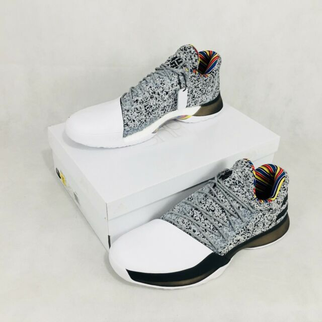 a2042fc46bc1 adidas Harden Vol 1 BHM Arthur Ashe Edition By3473 1962 of 1975 Size ...