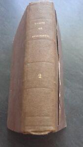 Ordeño Diagnóstico Y Semeiologie P.A Piorry T. 2 Pourchet 1837 Estado Correctos