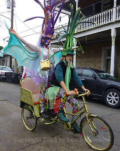 Krewe-of-St-Anne-Parade-Mardi-Gras-NEW-ORLEANS-8x10-Photo-Signed-Louis-Maistros