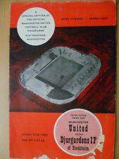 1964/65 Inter Cities Fair CUP MANCHESTER UNITED v. DJURGARDENS IF of Stockholm