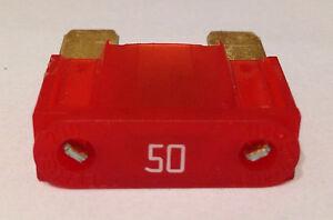 Littelfuse 50 Amp Red Maxi Fuses 5 pcs