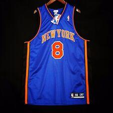 100% Authentic Latrell Sprewell Reebok Knicks Jersey Size 48 XL