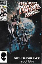 The New Mutants Annual Comic Book #1 Marvel Comics 1984  NEAR MINT NEW UNREAD