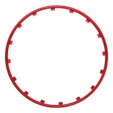 """Wheel  Protector - Rim Ringz 17"""" Red"""