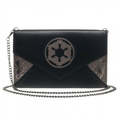 Star Wars Licensed Imperial Envelop Wallet w// Chains Authentic Galactic Logo NEW