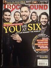 "Rocksound Magazine ""You Me At Six"" Issue #183 February 2014"