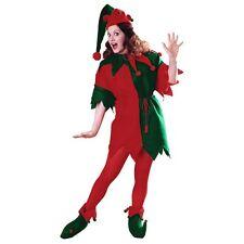Elf Tunic Santa Claus Helper Costume Christmas Fancy Dress