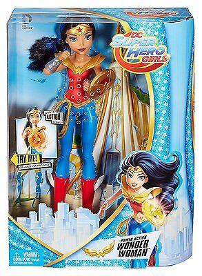 """DC Super Hero Filles Supergirl figure Mattel 12/"""" action doll Krypton BD Chop"""