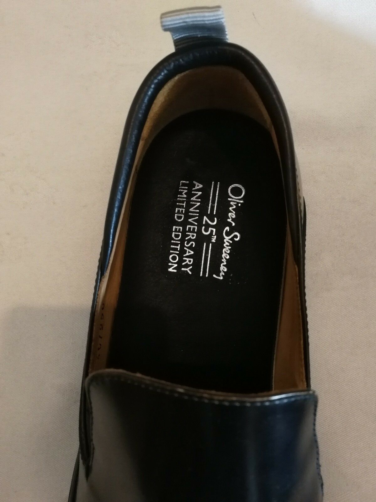 OLIVER OLIVER OLIVER SWEENEY Cova 25th Anniversary Limited Edition Slip-on Sneakers uk 7 eu 40 fd3ae7