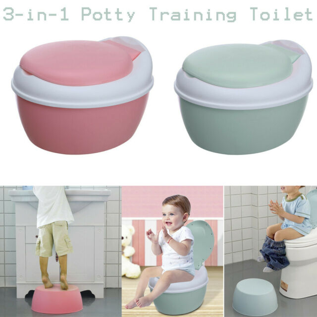 Blue Toddler Kid Urinal Potty Toilet for Pee Training Durable Seat Chair Korea